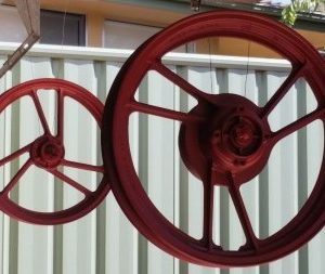 Wheels, Tyres and Axles
